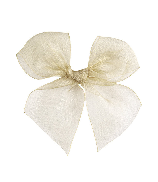 CONDOR  CONDOR | Hairclip with Organza bow Linen