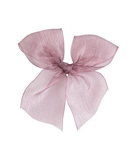 CONDOR  Hairclip with Organza bow Rosa Palo