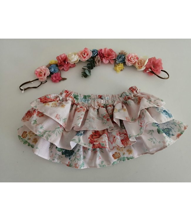 BE CHIC   Bloomer in 3 layers in classic floral print