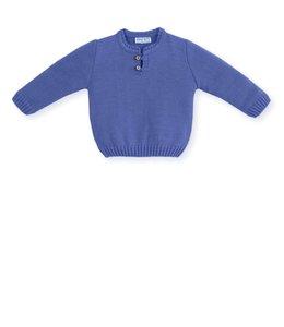 MAC ILUSION Gebreide trui Marineblauw