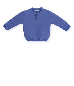 MAC ILUSION Knitted sweater Navy Blue