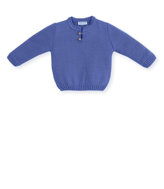 MAC ILUSION MAC ILUSION | Knitted sweater Navy Blue