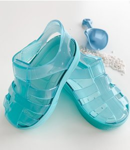 Water sandal in mint with sole in mint