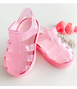 Pink water sandal with pink sole