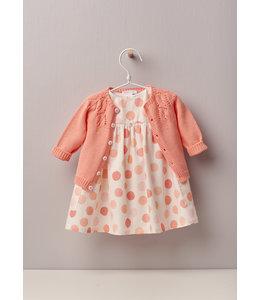 Playful dress in Peach tones