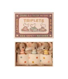 MAILEG Triplets Baby mice