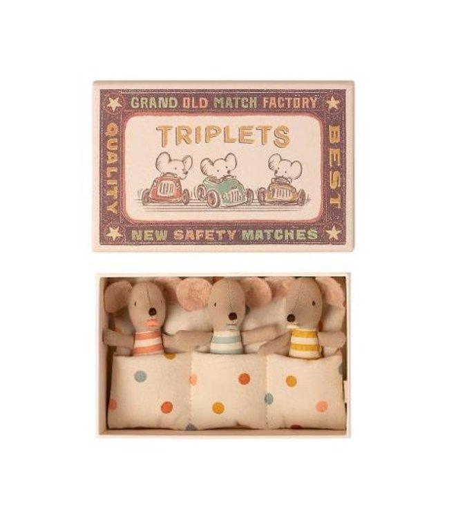 MAILEG MAILEG | Triplets Baby mice