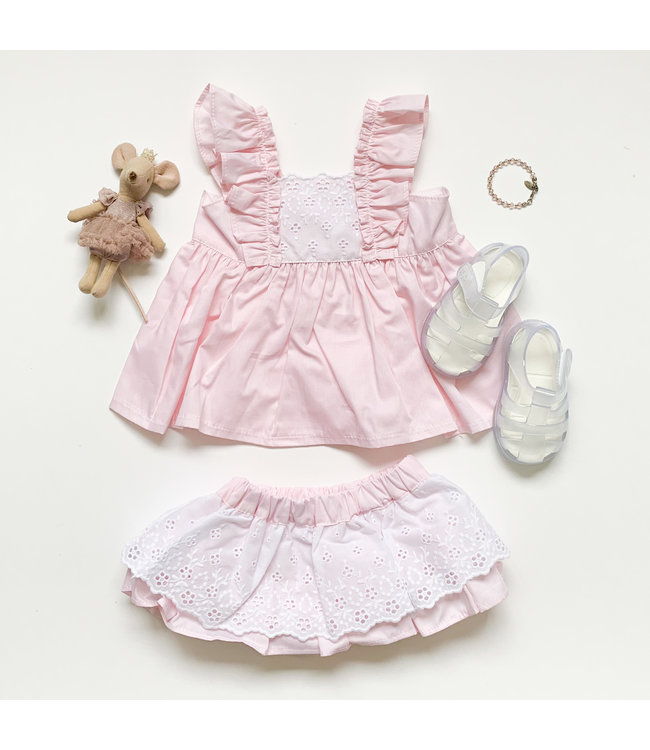 PURO MIMO | Two-piece pink set