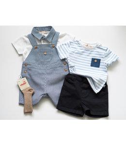 PURETE DU BEBE Navy blue shorts