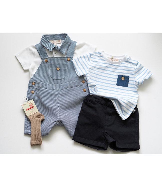 PURETE DU BEBE PURETE | Navy blue shorts