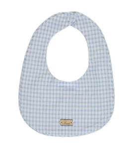 PURETE DU BEBE Bib matching with baby suit with nice vichy details