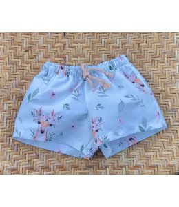 Swim shorts with deer