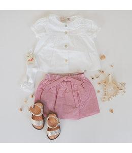 PURETE DU BEBE Beautiful white blouse