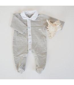 BABIDU Klassiek grijze pyjama
