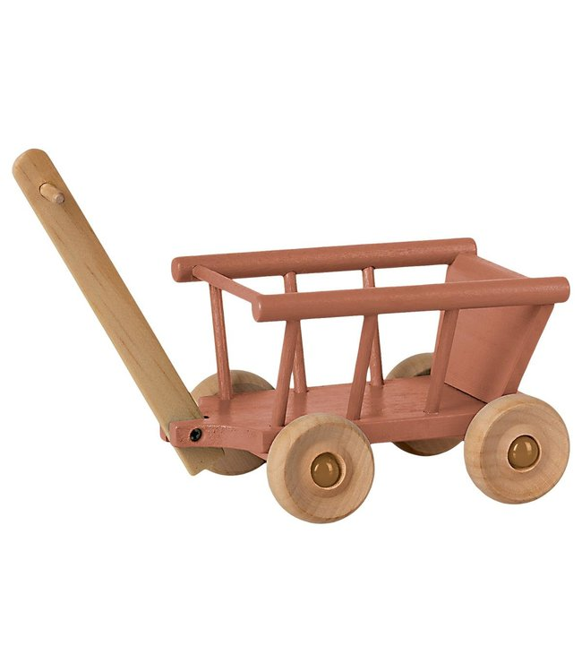 MAILEG MAILEG   Wagon Dusty Pink