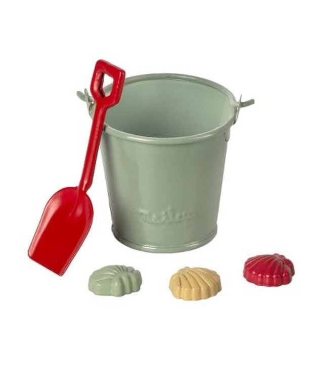 MAILEG MAILEG   Beach set - shovel, bucket and shells
