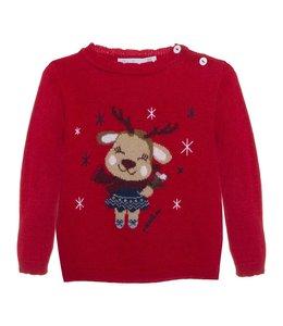 PATACHOU Christmas sweater Ella Red
