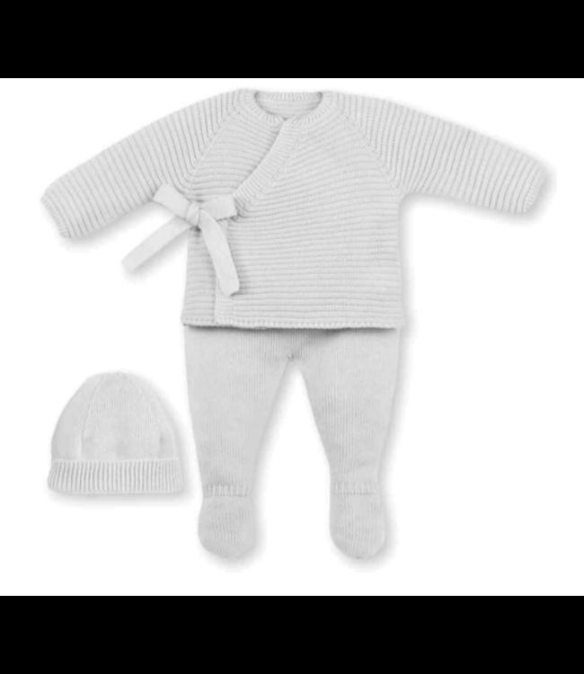 MAC ILUSION  Newborn suit ROBIN - WHITE