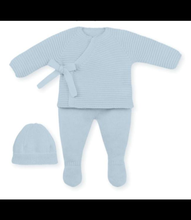 MAC ILUSION  Newborn suit ROBIN - LICHTBLAUW
