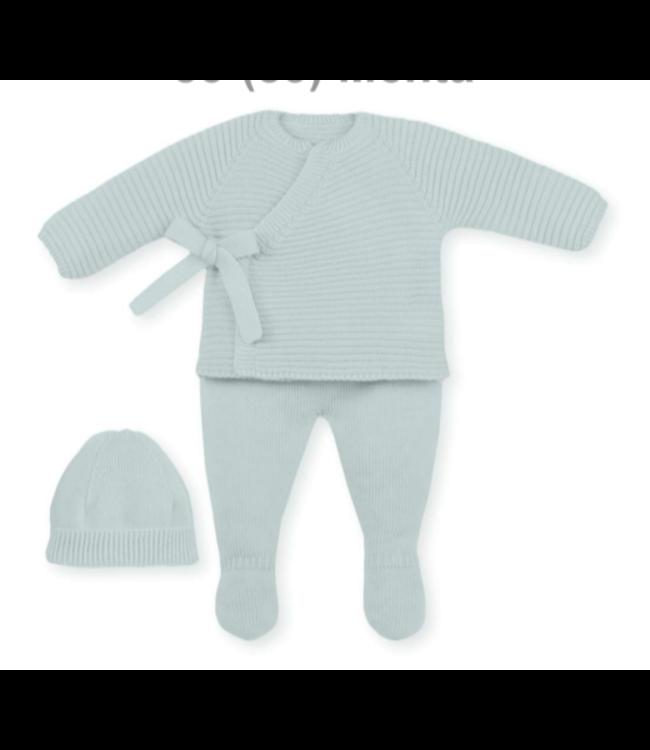 MAC ILUSION  Newborn suit ROBIN - MINT