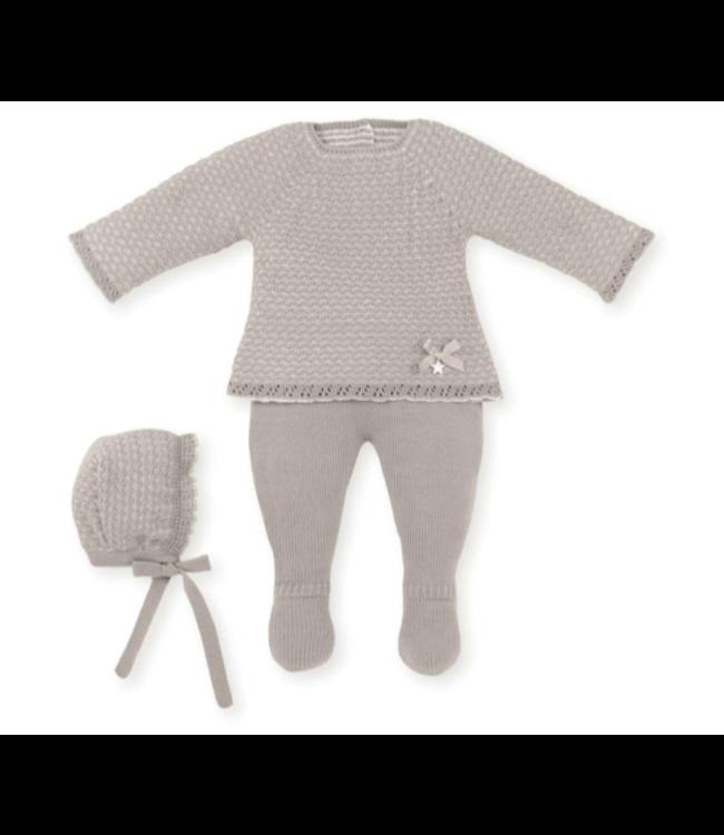 MAC ILUSION  Newborn suit Cecile - SAND