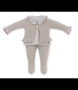 MAC ILUSION Newborn suit Renée - SAND