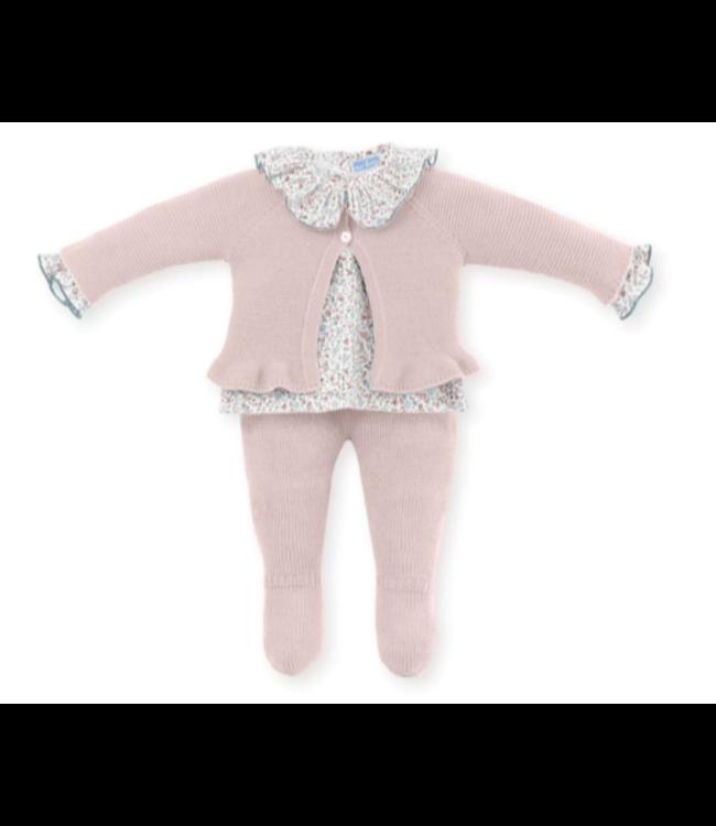 MAC ILUSION Newborn suit Renée - PINK