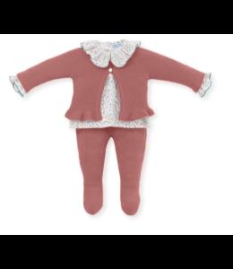 MAC ILUSION Newborn suit Renée - TERRACOTTA