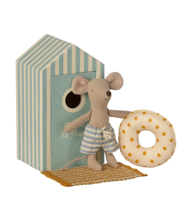 MAILEG MAILEG | Beach cabine little brother mouse
