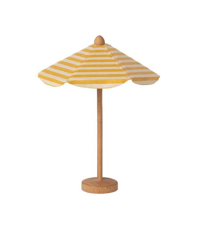 MAILEG MAILEG    Beach umbrella with yellow stripes