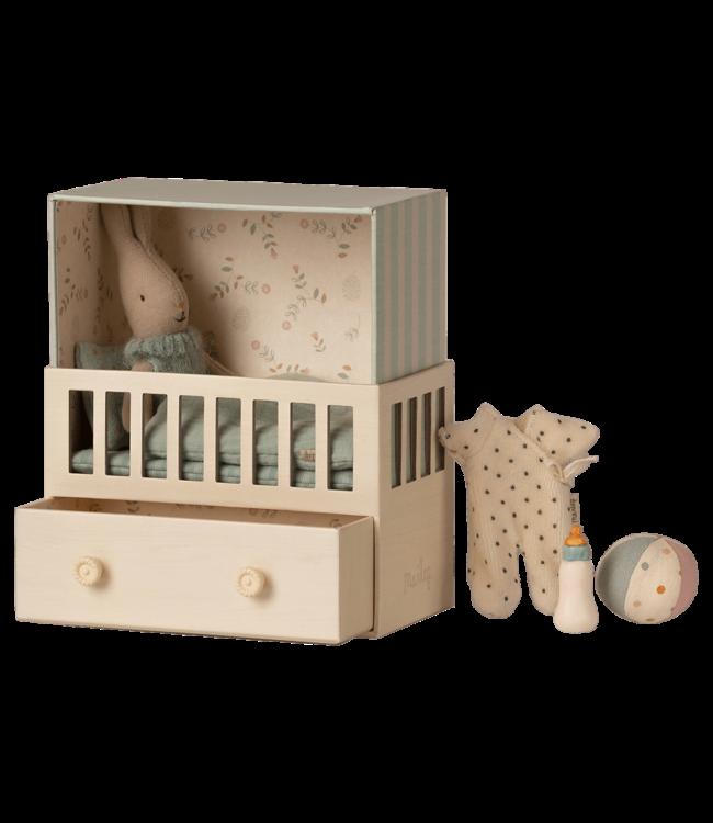 MAILEG MAILEG |  Baby room with micro rabbit
