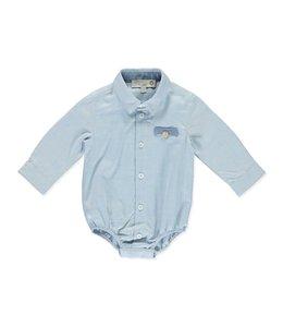 PURETE DU BEBE Bodyhemdje blauw