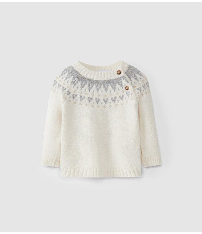 LARANJINHA LARANJINHA   Sweater Pieter Natural
