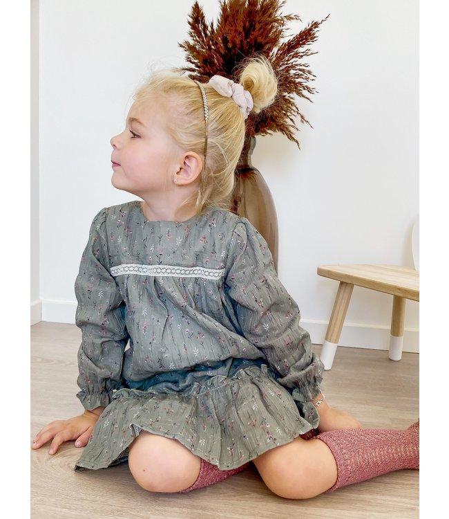 BABIDU Dress Rosie - GREEN