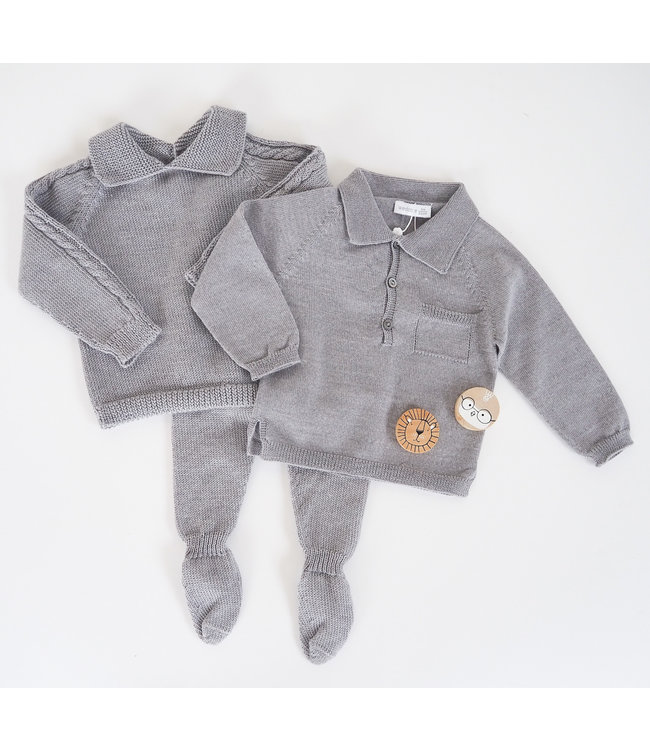 Sweater Henri - GRIJS