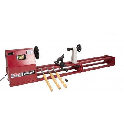Wood Lathe Starter Kit Including 3 Chisels Swl350