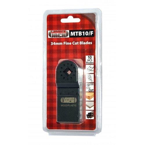 Lumberjack MTB10/F Multi-Tool blades fine