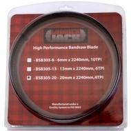 BSB305-20 2240x20mm Bandsägeblatt