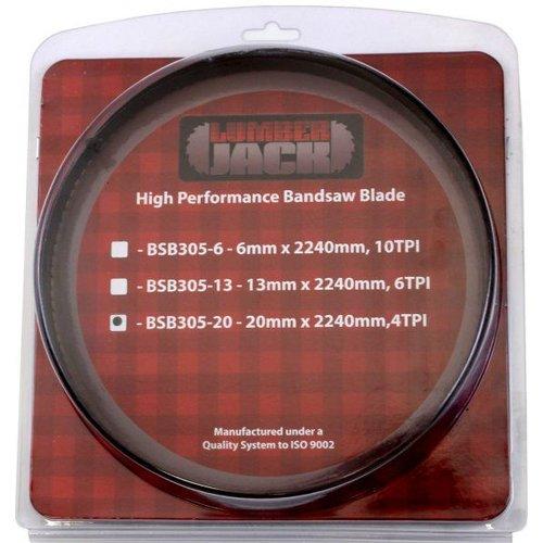 Lumberjack BSB305-20 2240x20mm Bandsaw Blade
