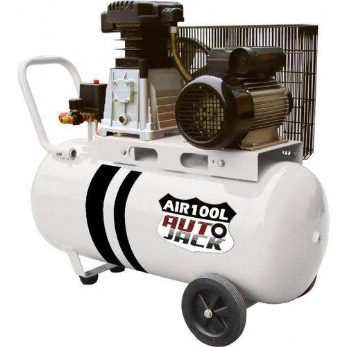 Autojack 100 Ltr Compressor Dubbele Cilinder - AIR100L