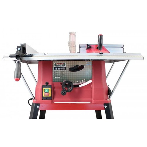 Lumberjack TS254EL Table Saw without leg stand
