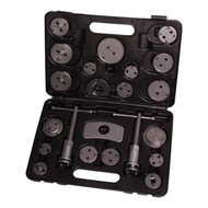 AUTOJACK BCR22 UNIVERSAL 22PC DISC BRAKE CALIPER PISTON REWIND CAR GARAGE TOOL KIT