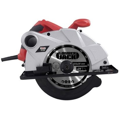 Lumberjack CS185 Multi Purpose Circular Saw 1400W Dust Extraction Bevel Angle