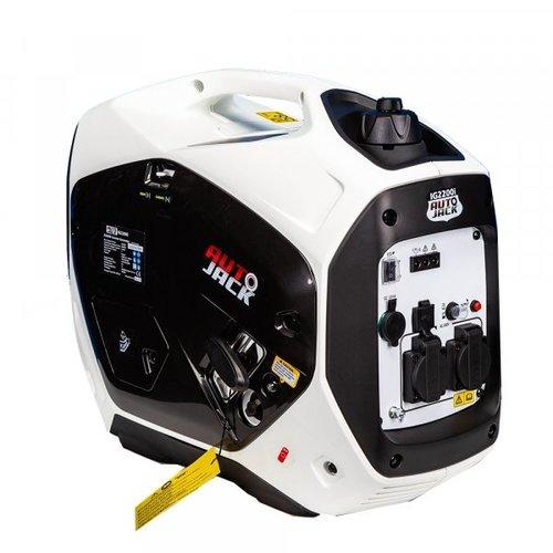 Autojack Benzinegenerator 4-takt IG2200i, 2200 W