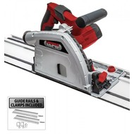 LUMBERJACK PS165 1200W 165MM PLUNGE CUT COMPACT CIRCULAR SAW & 1400MM TRACK KIT 240V