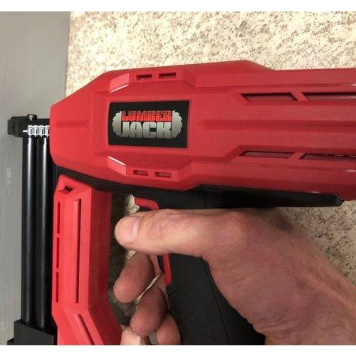 NS18G 2 IN 1 Nail & Staple GUN ELECTRIC HEAVY DUTY STAPLER NAILER TACKER 240V