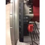 Lumberjack Invalzaag PS165 met 1400mm geleiderail
