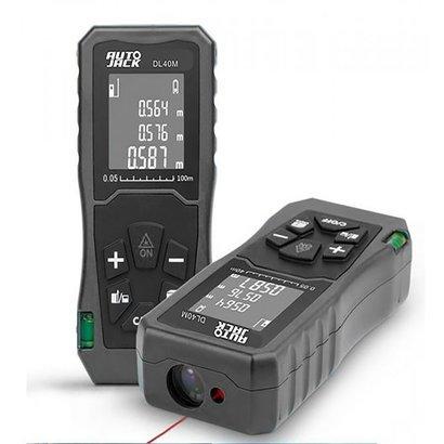 DL40M Handheld Digital Laser Point Distance Meter Tape Range Finder Measure 40m 131ft