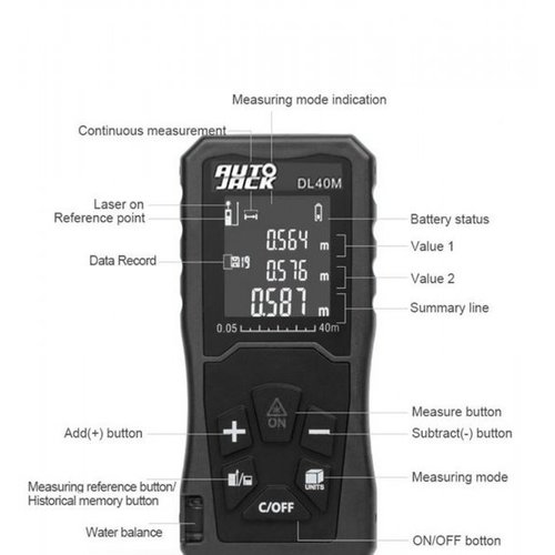 DL40M digitale meter