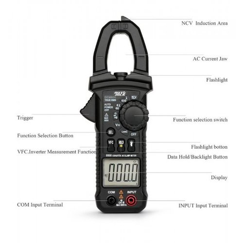 Autojack  Digitale Clamp Multimeter DCM600